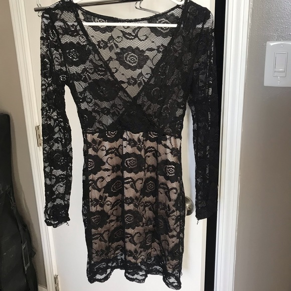 Dresses & Skirts - Sexy body hugging see through dress